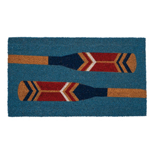 Rowing Oars Doormat