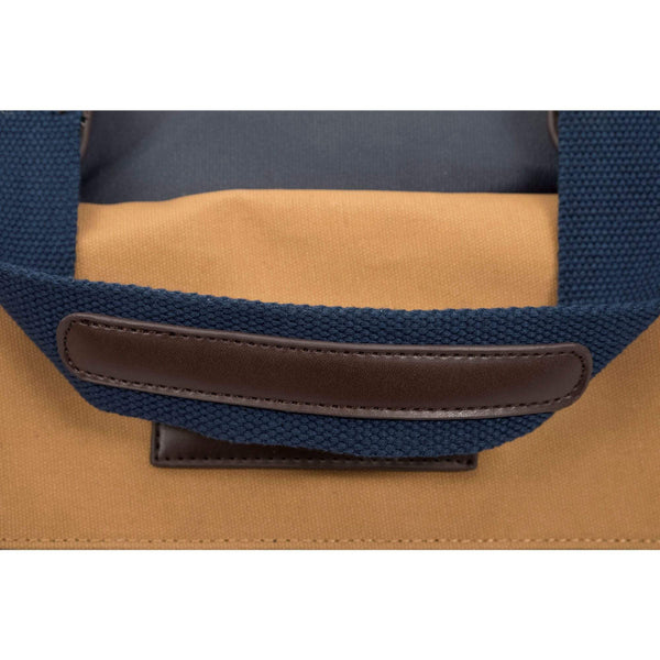Batela Giftware Bags Default Showerproof Weekend Bag in Blue and Tan
