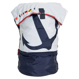 Batela Giftware Bags White And Navy Sailor Bag