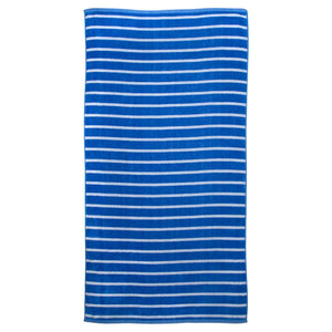 Batela Giftware Bathroom Default Stripes Beach/Bath Towels (x2)