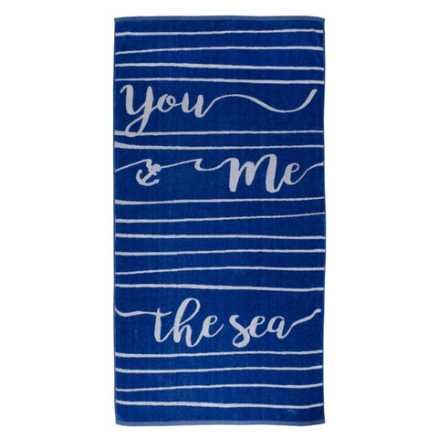 Batela Giftware Bathroom Default You, Me, the Sea Bath Towels (x2)