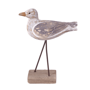 Batela Giftware-Birds-Bird With Wooden Base Ornament