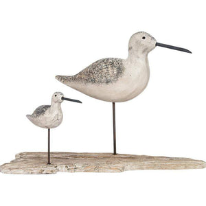 Batela Giftware-Birds-Two Birds Ornament with Base