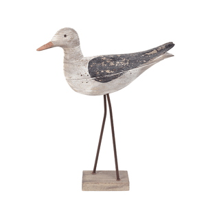 Batela Giftware Birds Large Birds With Base Ornament (set of 2)