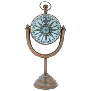 Batela Giftware Clock Clock With Moon Stand