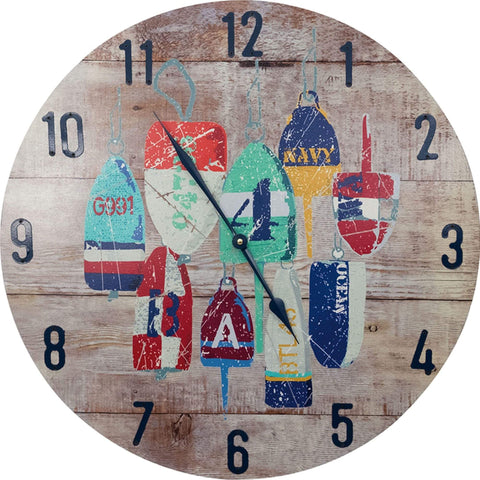 Batela Giftware-Clock-Buoys Wall Clock