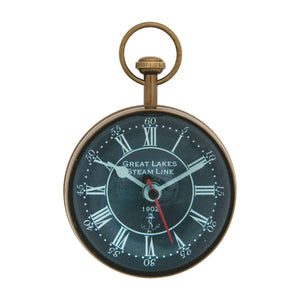 Batela Giftware-Clock-Large Paperweight Clock/Compass