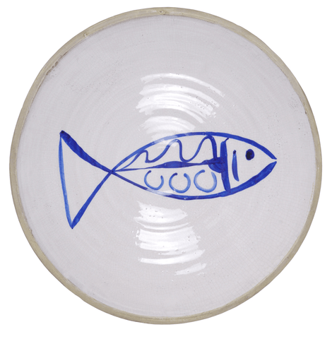 Batela Giftware Crockery Plate Fish