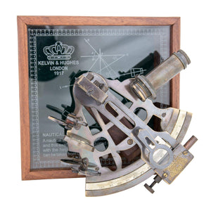 Batela Giftware Desktop Brass Sextant Gift Set