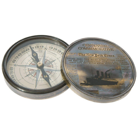 Batela Giftware-Desktop-Compass - Titanic Design