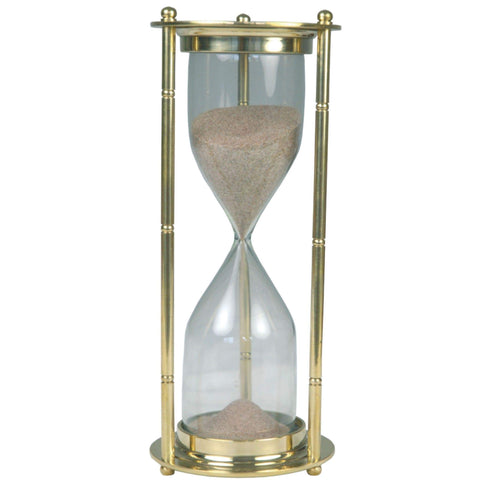 Batela Giftware Desktop Default Brass Hourglass - Large