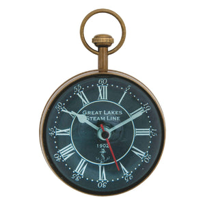 Batela Giftware-Desktop-Paperweight - Small Clock/Compass