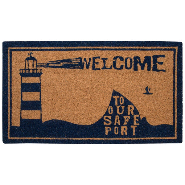 Batela Giftware-Doormats-Lighthouse Doormat