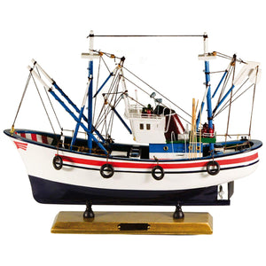 Batela Giftware Fishing Boats Default Model Fishing Boat, Small
