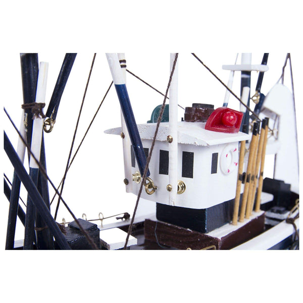Batela Giftware Fishing Boats Default Model Fishing Boat VIII - Blue