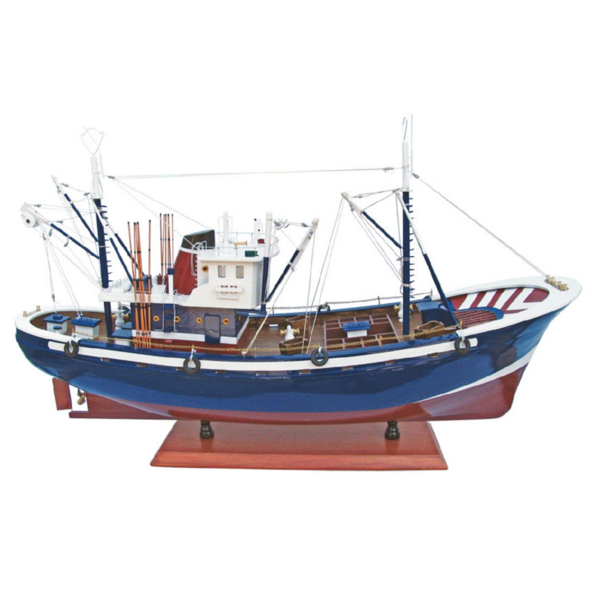 Batela Giftware-Fishing Boats-Tuna Fishing Boat III - Model Boat