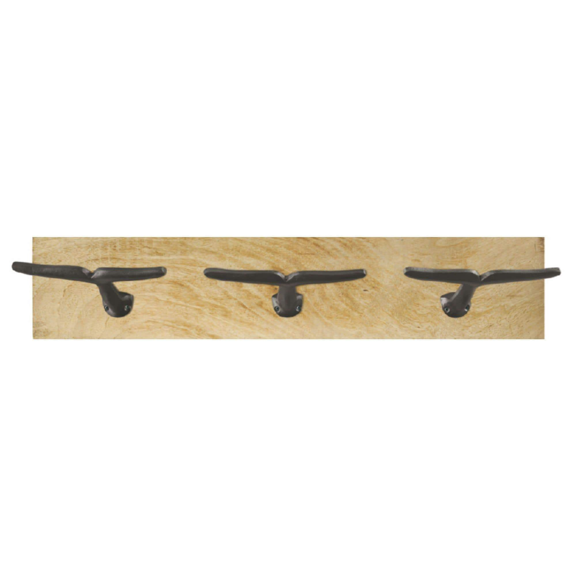 Batela Giftware-Coat Racks & Hooks-Coat Rack with Whale Tail Hooks