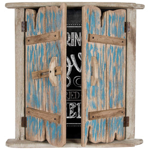 Batela Giftware-Home Decoration-Harbour Window Blackboard Key Cupboard