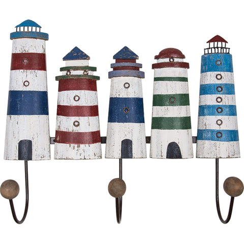 Batela Giftware-Coat Racks & Hooks-Lighthouse Coat Rack