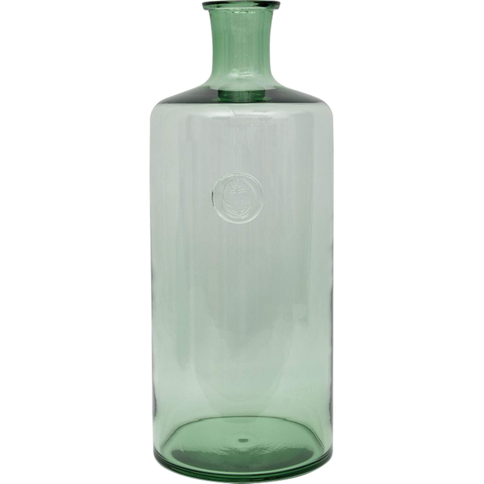 Batela Giftware-Home Decoration-Sea-Green Cylindrical Bottle