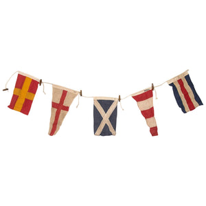 Batela Giftware-Home Decoration-Vintage Nautical Signal Flag Bunting
