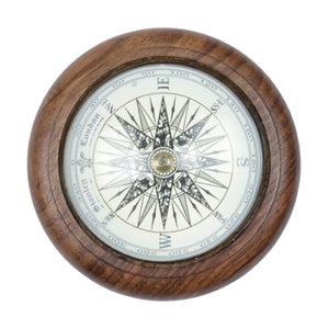 Batela Giftware-Home Decoration-Wooden Compass