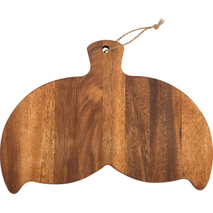 Batela Giftware Kitchen Default Whale-Tail Chopping Board