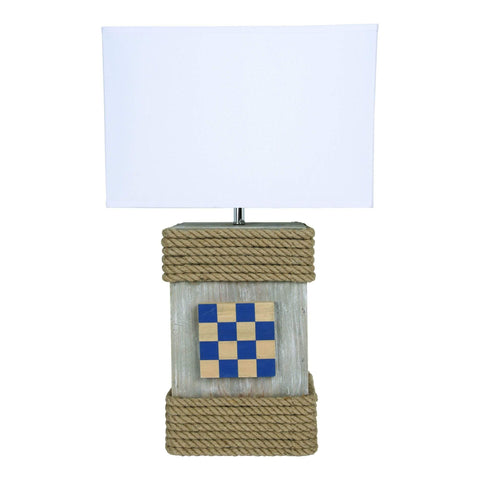 Batela Giftware-Lamp-Lamp With Flag Pattern