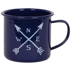 Batela Giftware Mugs Default Compass Mug (Set of Six)