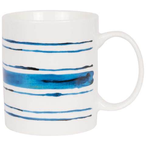 Batela Giftware-Mugs-Sea Striped Mug (Set of 4)