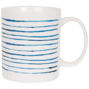 Batela Giftware-Mugs-Striped Mug (Set of 4)