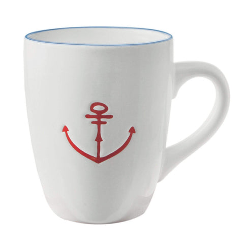 Batela Giftware Mugs Set of 6 Mugs - Anchor Collection