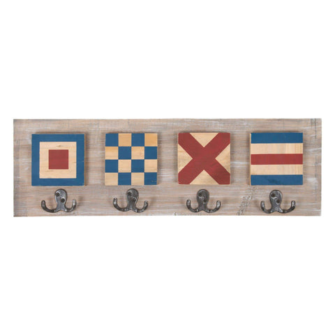 Batela Giftware-Coat Racks & Hooks-Coat Rack Flags