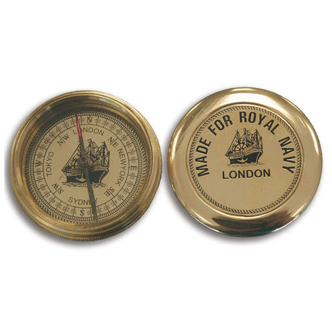 Batela Giftware-Nautical Office Decoration-Compass - Royal Navy
