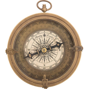 Batela Giftware Nautical Office Decoration Default Brass Pocket Compass