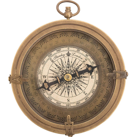 Batela Giftware-Nautical Office Decoration-Brass Pocket Compass