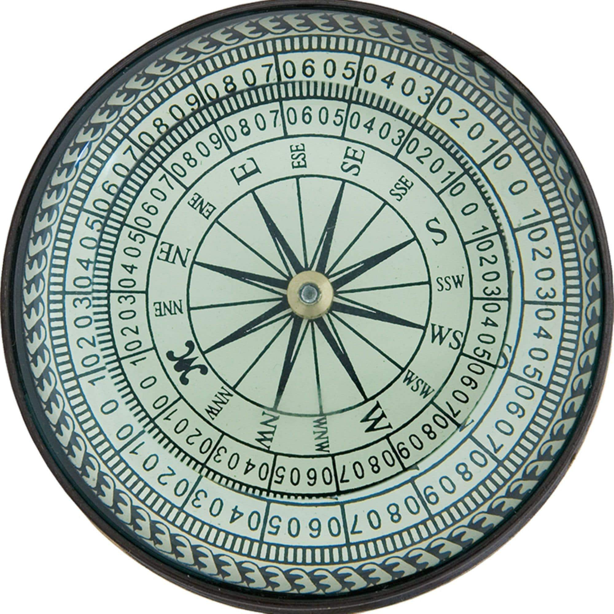 Batela Giftware-Nautical Office Decoration-Compass with Magnifying Glass