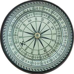 Batela Giftware Nautical Office Decoration Default Compass with Magnifying Glass