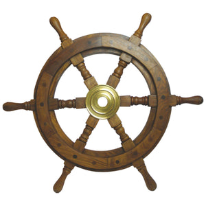 Batela Giftware-Nautical Office Decoration-Mini Ship's Wheel