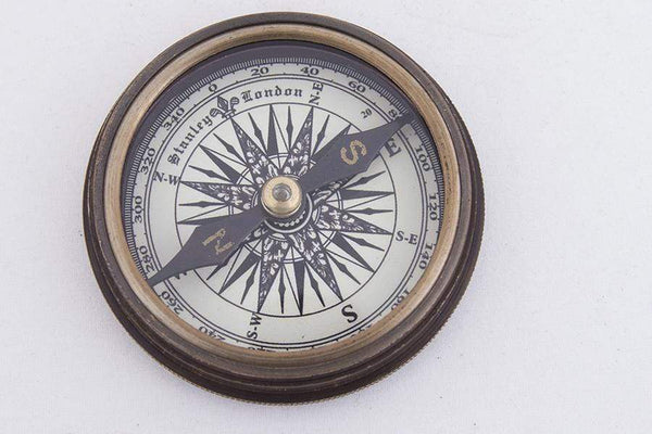 Batela Giftware-Nautical Office Decoration-Replica 1885 Stanley Compass