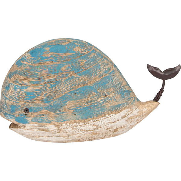 Batela Giftware-Ornaments-Driftwood Whale Ornament