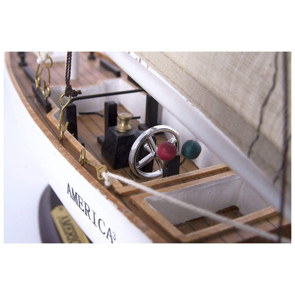 Batela Giftware Sail Boats America - Model Boat