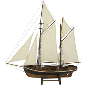 Batela Giftware Sail Boats Default Double Mast Sailing Ship