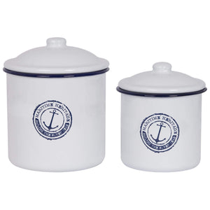 Batela Giftware Tableware Default Seven Seas Storage Barrels (Set of Two)