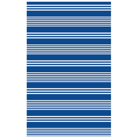 Batela Giftware Tableware Default Striped Tablecloth, Large