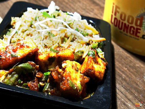 Fried Rice / Chilly Paneer Combo