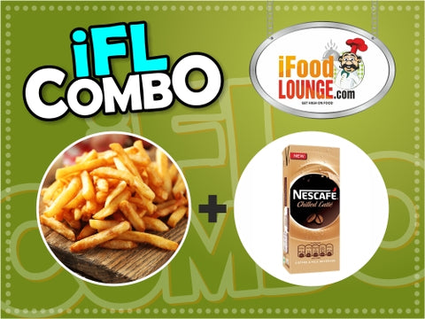 Fries Cold Coffee Combo