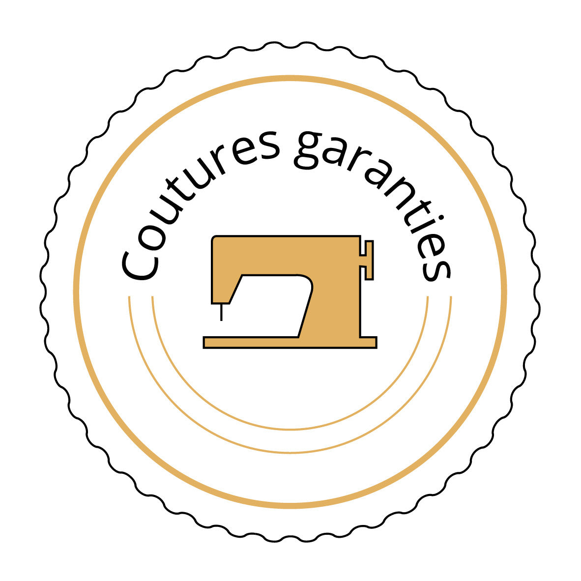 Nos coutures sont garanties à vie - slow fashion