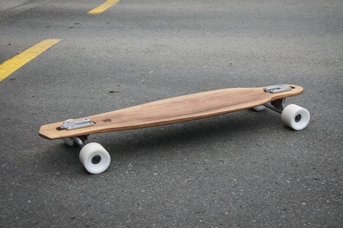KICK-STARTER LAUNCH ~ Recycled Wine-barrel Longboards
