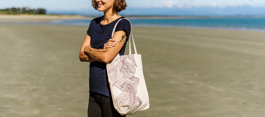 The Paper Rain Project Hemp Tote Bag